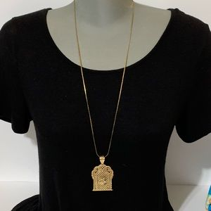 Long Necklace w/ God pendant